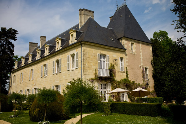 Chateau de Tilly in Loire Valley, France