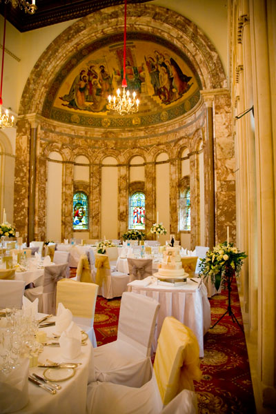 Luton Hoo wedding breakfast