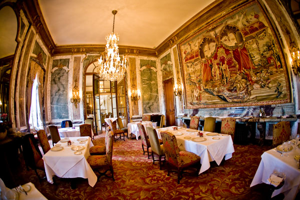 Restauarant at Luton Hoo Hotel, Bedfordshire