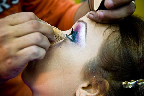 wedding hair and make-up in Egypt