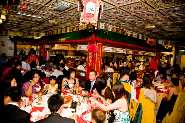 Chinese wedding reception at Maxis in Leeds