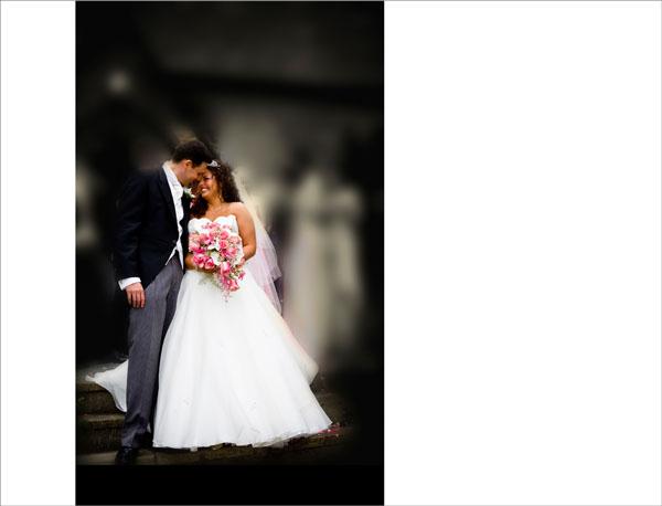 dreamy wedding photo