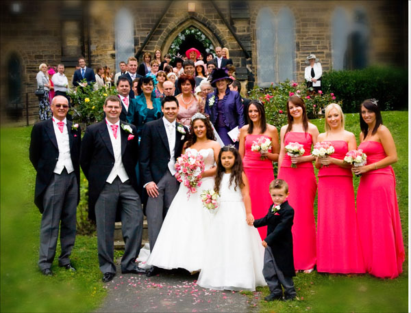whole group wedding picture