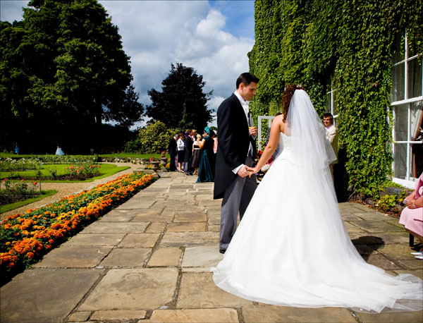 Woolley Hall wedding reception venue