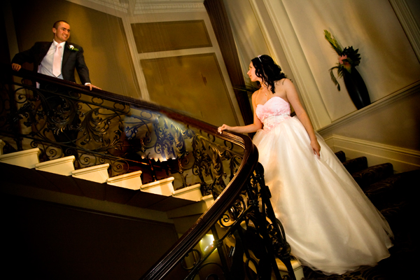 picture of Winter indoor wedding in Leeds