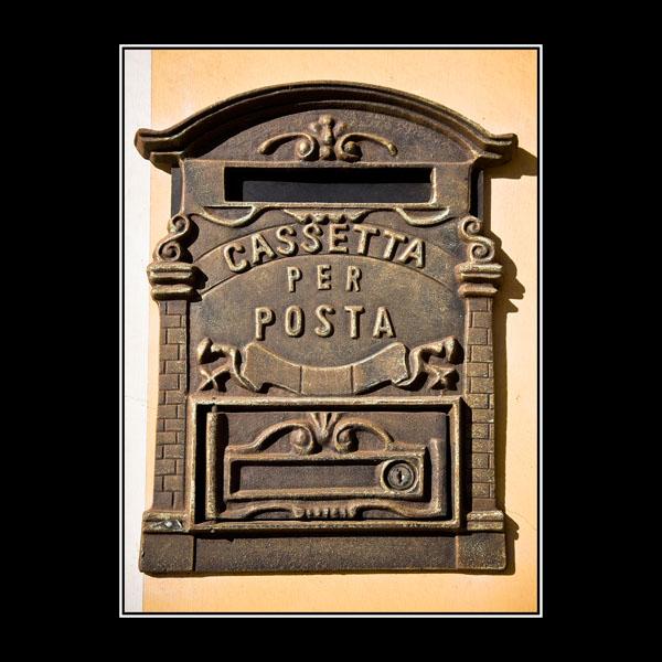 Italian rural mailbox in Arpaia