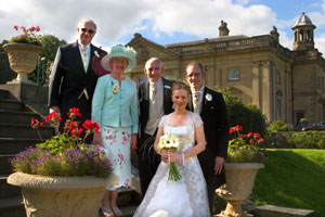 wortley hall wedding party