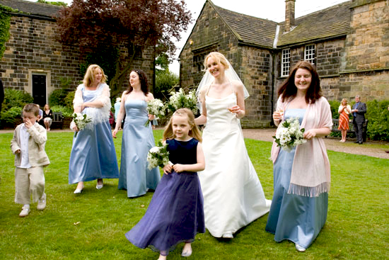 wedding at Oakwell Hall in West Yorkshire