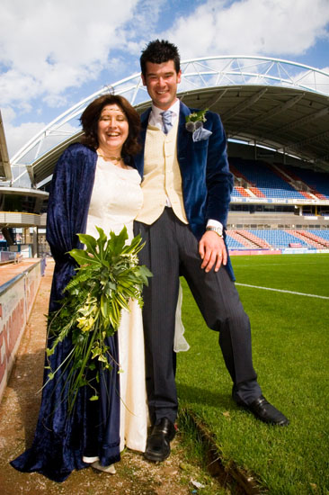 Galpharm Stadium wedding venue near Huddersfield