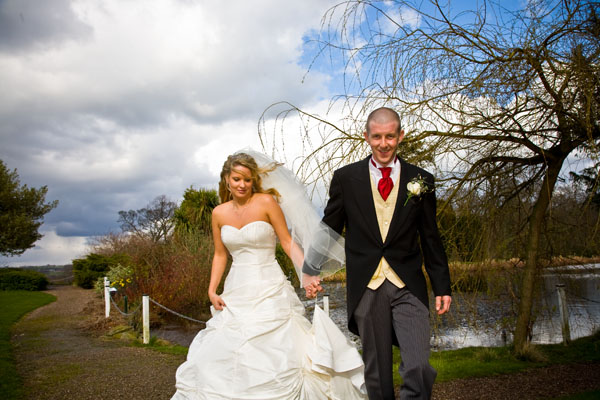 wedding picture at Bagden Hall near Huddersfield