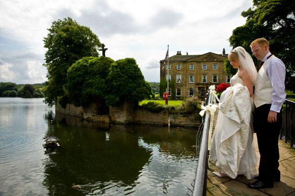 Waterton Park Hotel, Walton Hall, wedding venue on an island in West Yorkshire near Wakefield