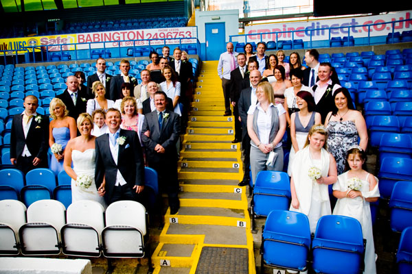 Elland Road Stadium as a wedding venue in Leeds