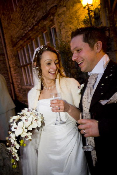 Winter wedding at Monk Fryston Hall Hotel