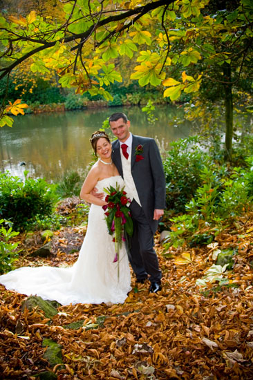 Autumn wedding at Hey Green Hotel in Marsden - wedding venue West Yorkshire