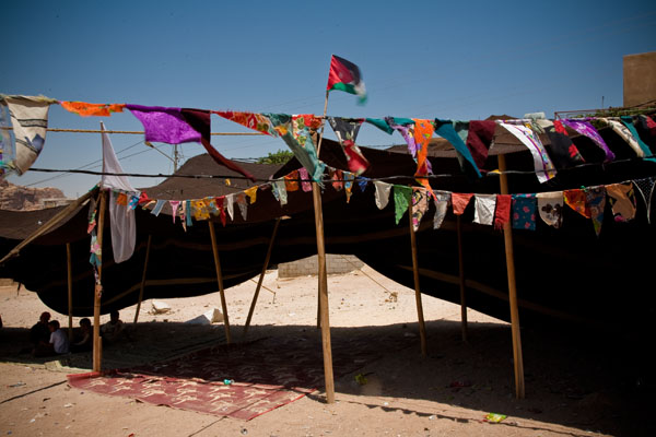 Bedouin Tent for wedding in Petra