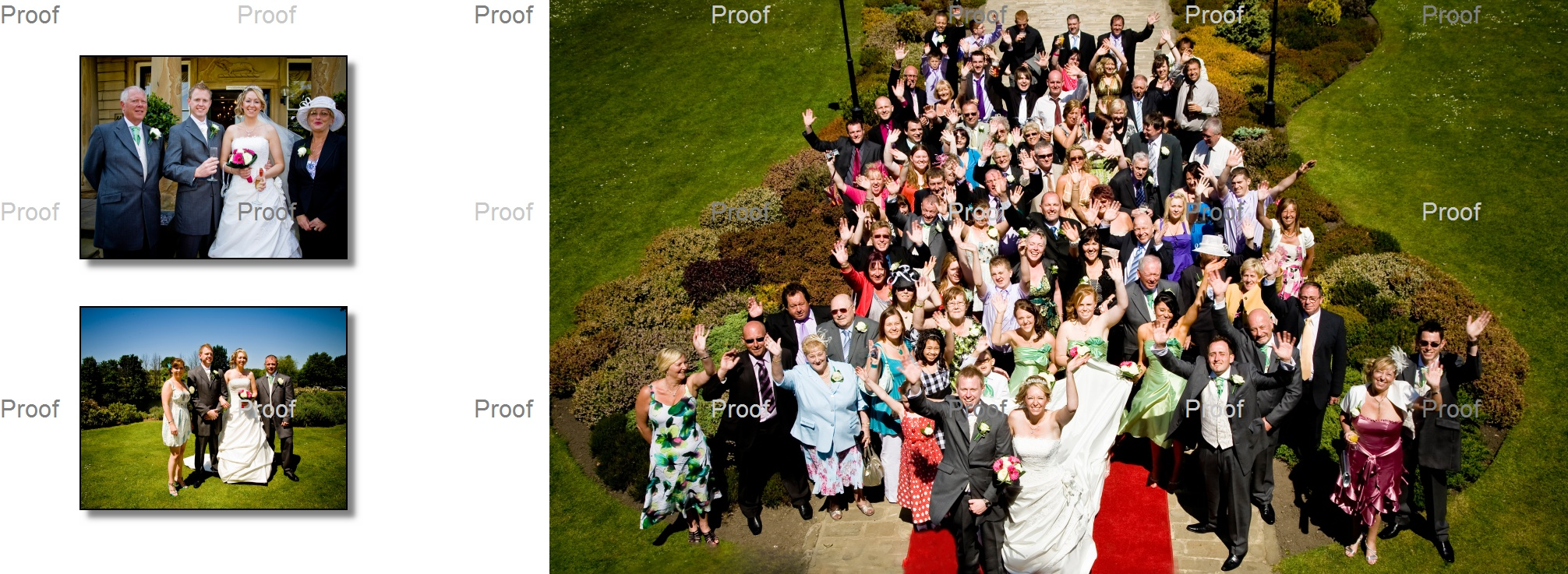 close family and big group photo at Waterton Park Hotel