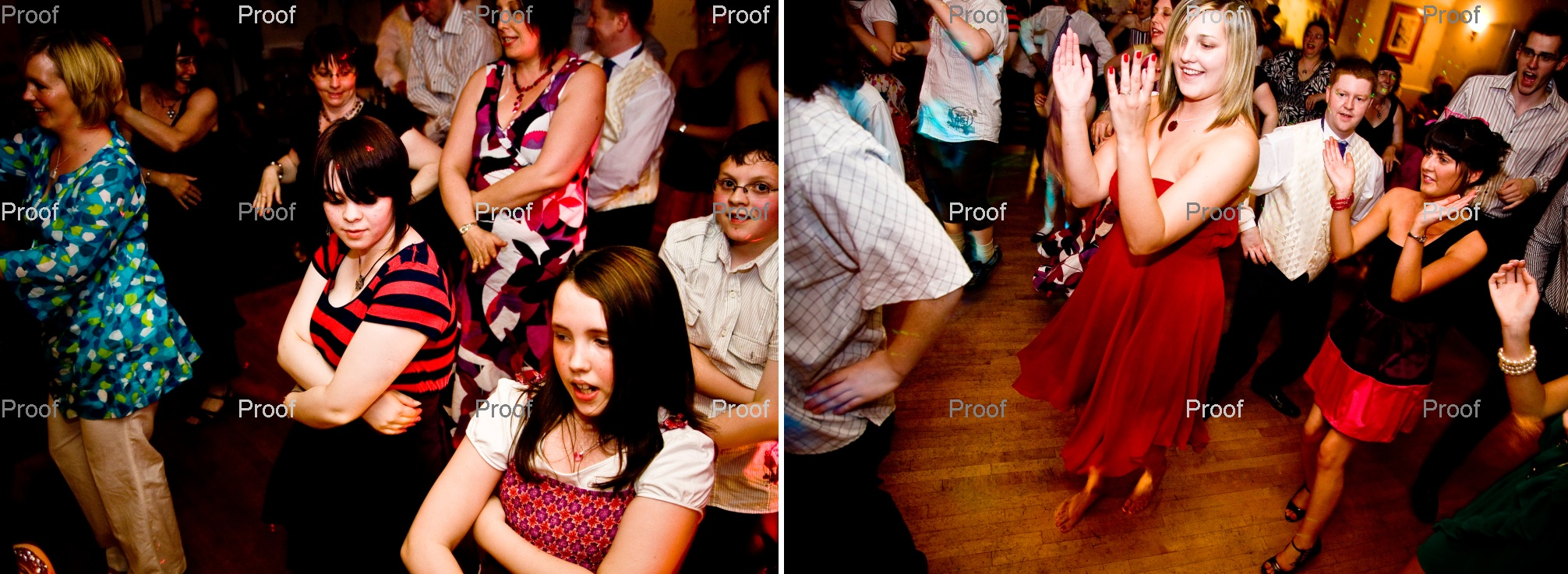 good fun dancing at evening wedding reception near Leeds pages 56-57 by Reel Life Photos