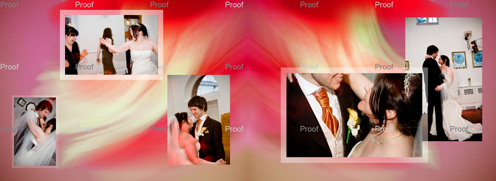 pages 78-79 wedding storybook with Louise & Martin's first dance at evening wedding reception in Manchester