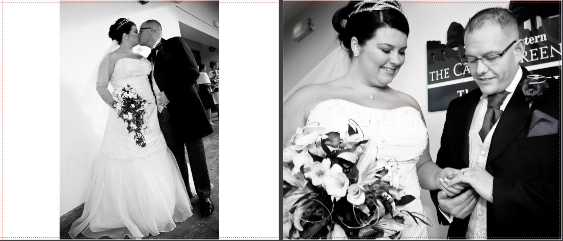 black and white wedding photos of the bride and groom