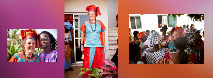Gambian wedding day pictures