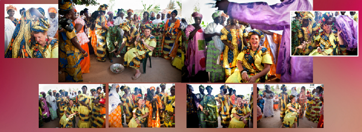 Gambian traditional wedding celebrations