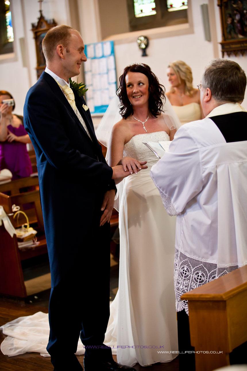 wedding vows at st marys church