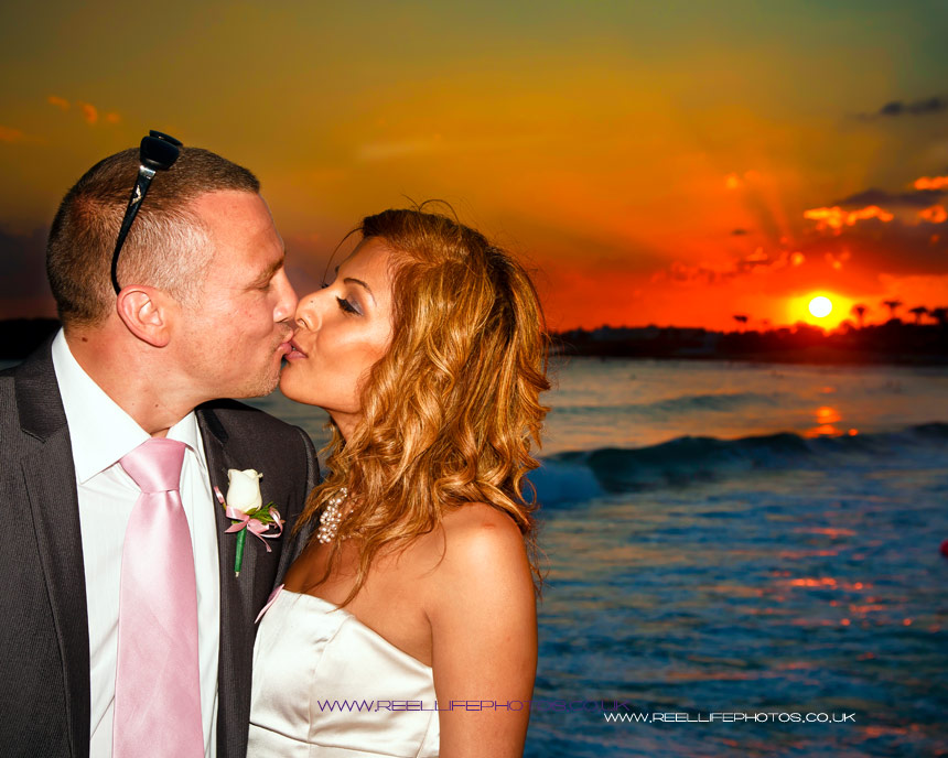 wedding photography in Ayia Napa, Nissi Beach, Cyprus
