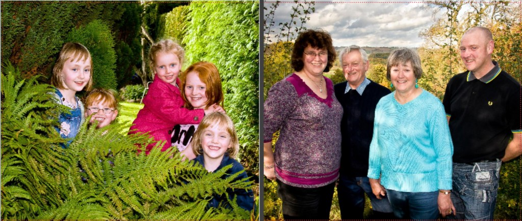 70th birthday family portraits in North Yorkshire