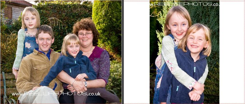 page 7 of family portrait album