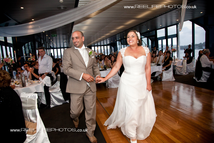 Starship Sydney wedding reception pictures