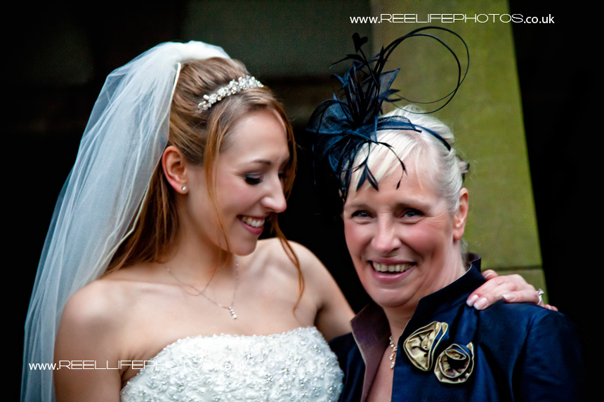 Bride and her Mum