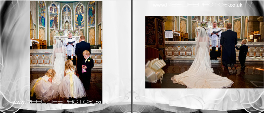 wedding storybook album