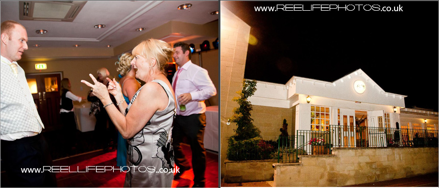 Gomersal Park Hotel at night and disco dancing in storybook by Reel Life Photos