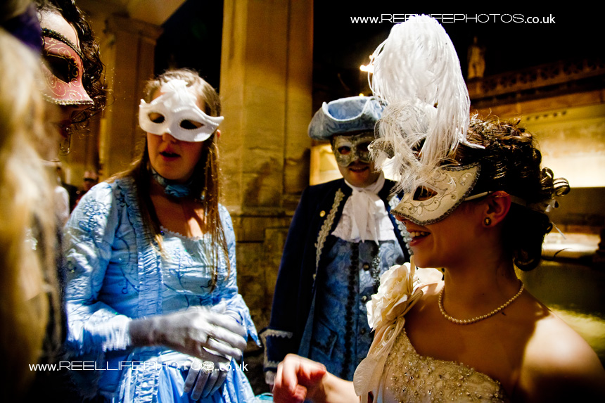 Masked Ball at the Pumphouse in Bath