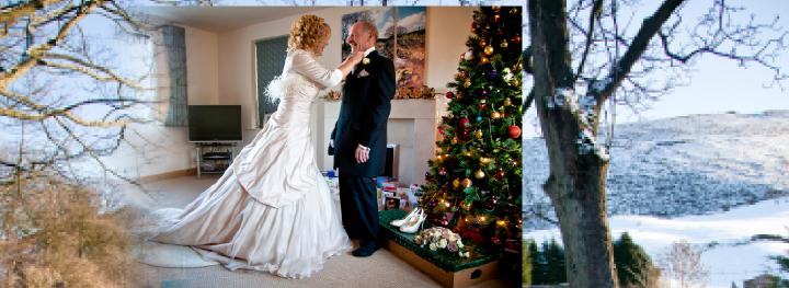 Graphistudio wedding storybook album pictures Christmas Eve
