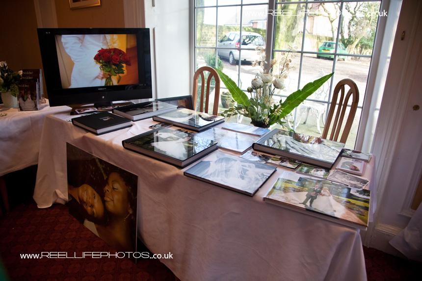 storybook wedding albums by Reel Life Photos