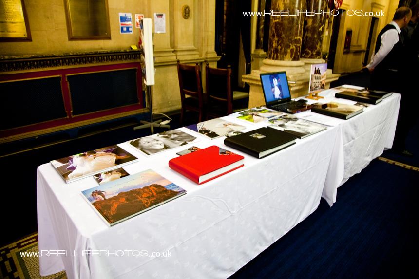 Reel Life Photos storybook albums at Dewsbury Town Hall
