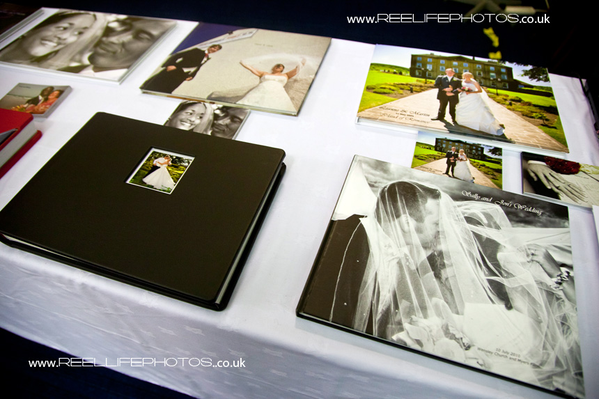 Reel Life Photos wedding storybook albums
