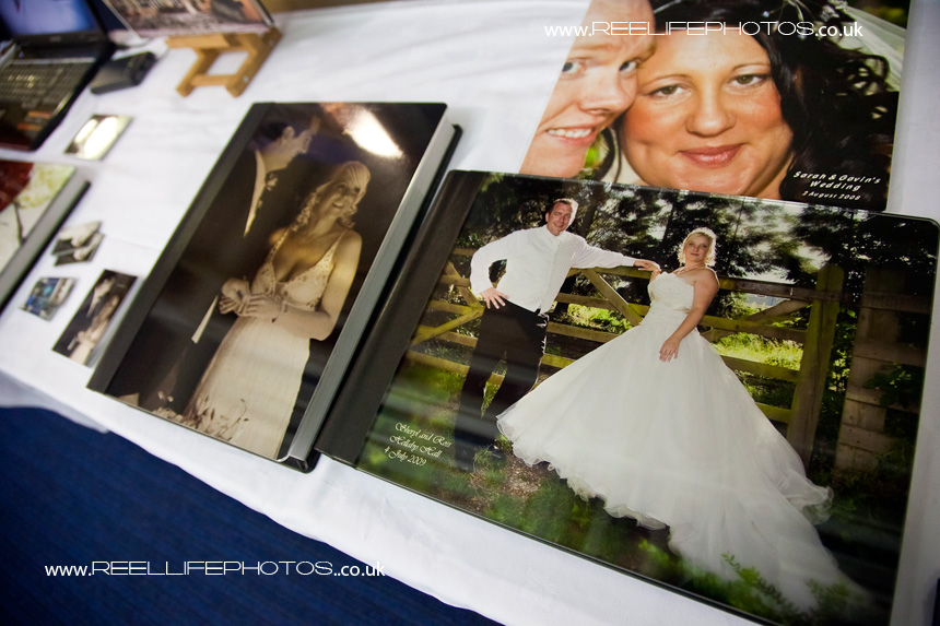 Reel Life Photos wedding storybook a covers