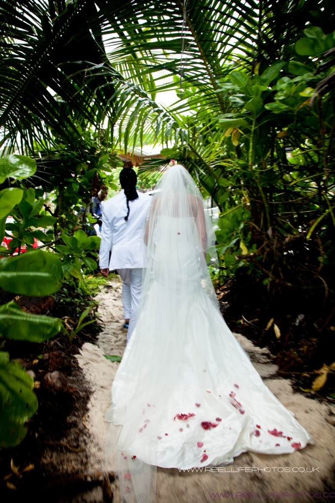 Trevor and Lauren's wedding in the Seychelles