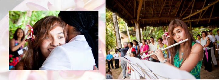 pictures  of Cap Lazare wedding reception venue in the Seychelles