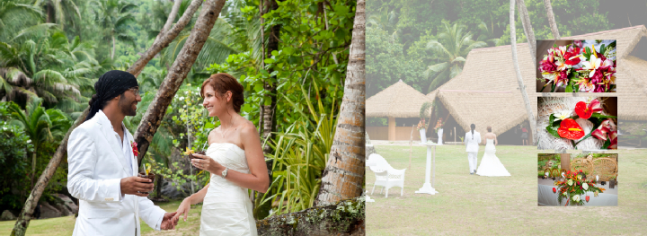exotic dream wedding location on Mahe in the Seychelles