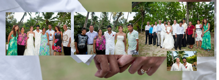 wedding photos in the Seychelles