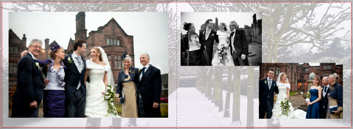 winter wedding photography in Cheshire
