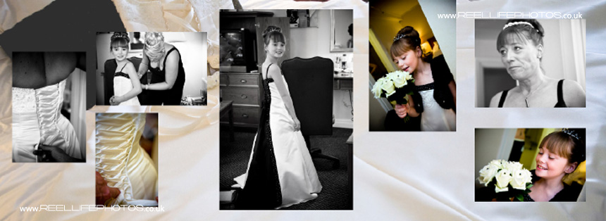 Yorkshire wedding photography in South Yorkshire with storybook