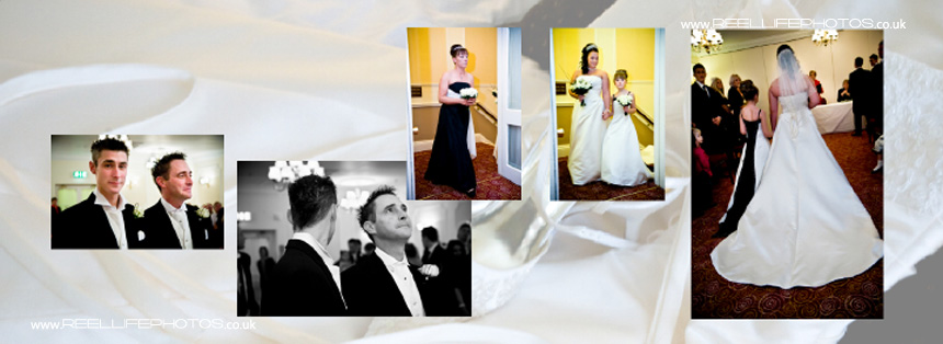 wedding photography at Tong Holiday Inn near Bradford