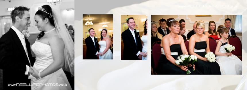 winter wedding ceremony pictures