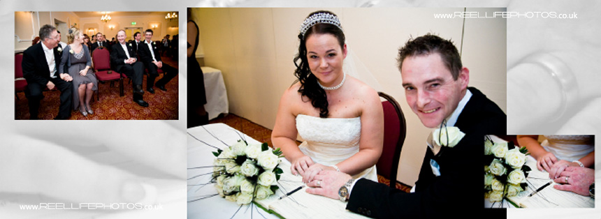 getting married at Tong Holiday Inn near Bradford