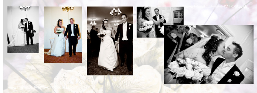 black and white wedding photography in Tong West Yorkshire