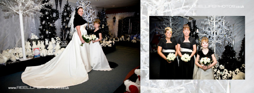 Italian storybook with winter wedding photography in West Yorkshire